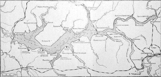 Карты глубин цимлянского водохранилища